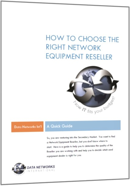 choose a network equipment reseller small